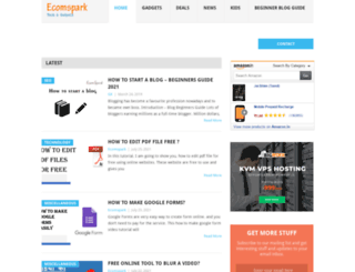 ecomspark.com screenshot