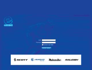 econnectnz.avantibikes.com screenshot