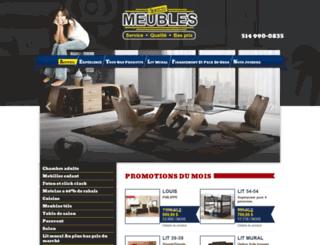 economeubles.com screenshot