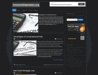 economicdepression.org screenshot
