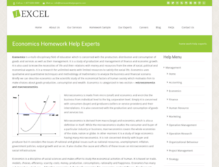 economics.homeworkhelpexperts.com screenshot