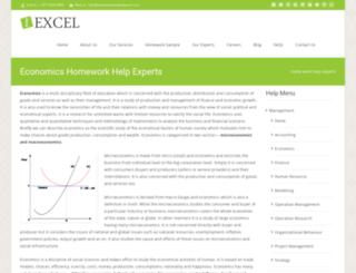 economics.homeworkhelpexperts.com screenshot