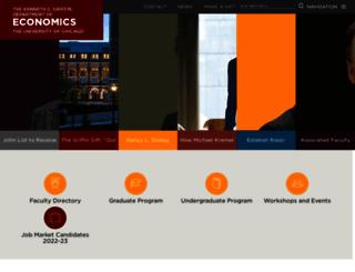 economics.uchicago.edu screenshot