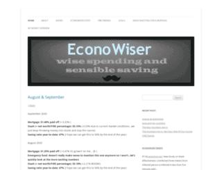econowiser.wordpress.com screenshot