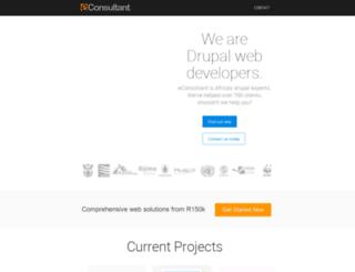 econsultant.co.za screenshot