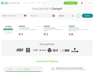 ecoparcel.net screenshot