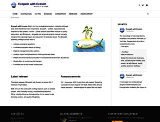ecopath.org screenshot