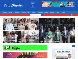 ecosdiariosweb.com.ar screenshot