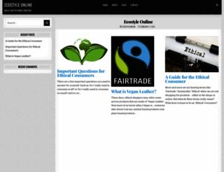 ecostyleonline.com screenshot