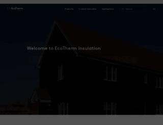 ecotherm.co.uk screenshot
