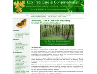 ecotreecare.co.uk screenshot