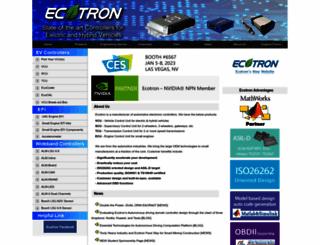 ecotrons.com screenshot