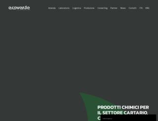 ecoverde.com screenshot