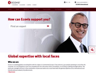 ecovis.com screenshot