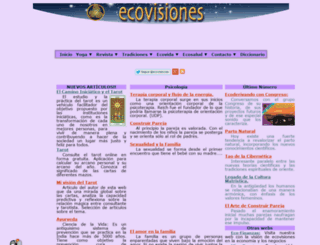 ecovisiones.cl screenshot