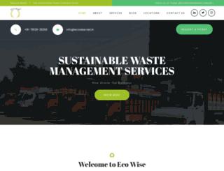 ecowise.net.in screenshot