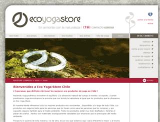 ecoyogastore.cl screenshot