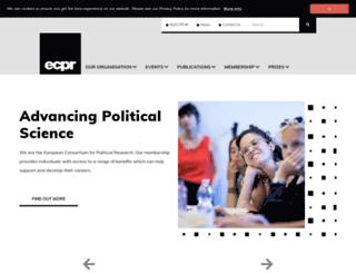 ecprnet.eu screenshot