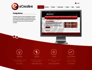 ecreative.com.au screenshot