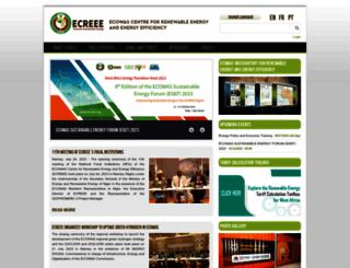 ecreee.org screenshot