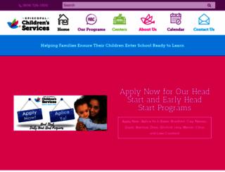 ecs4kids.org screenshot