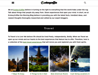 ecstasycoffee.com screenshot