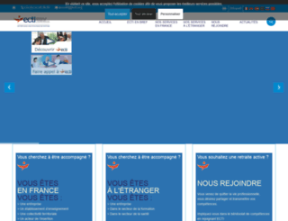 ecti.org screenshot