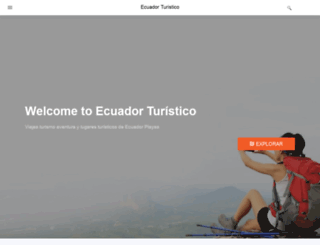 ecuador-turistico.com screenshot