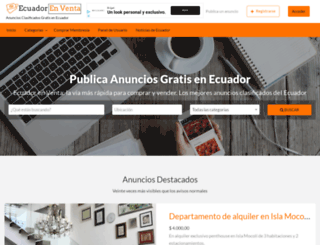 ecuadorenventa.net screenshot