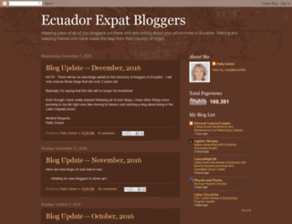 ecuadorexpatbloggers.blogspot.com screenshot