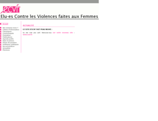 ecvf.online.fr screenshot