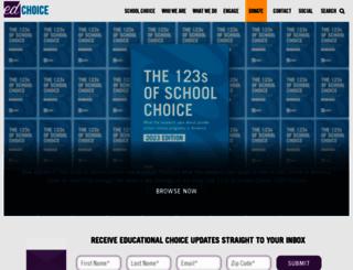 edchoice.org screenshot