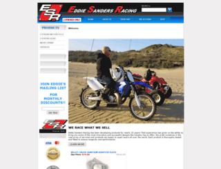 eddie-sanders-racing.com screenshot