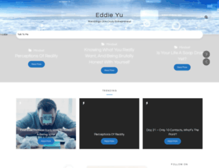 eddieyu.co.uk screenshot