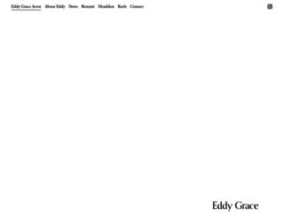 eddygrace.com screenshot