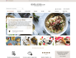 edelices.com screenshot