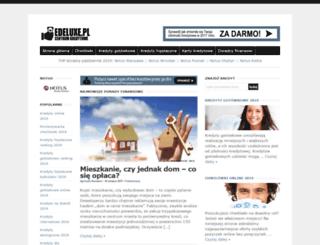 edeluxe.pl screenshot