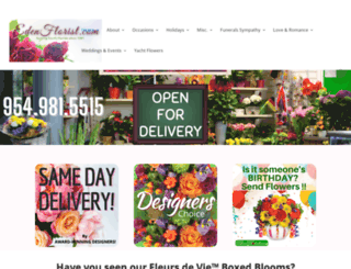 edenflorist.com screenshot