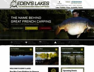 edenslakes.com screenshot