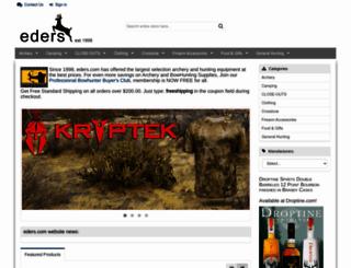 eders.com screenshot