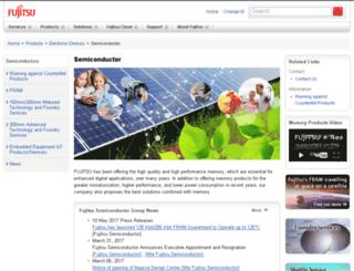 edevice.fujitsu.com screenshot