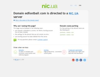 edfootball.com screenshot