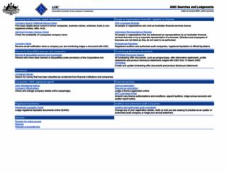 edge.asic.gov.au screenshot