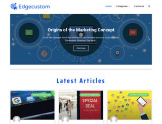edgecustom.com.au screenshot