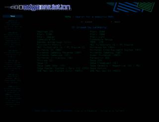 edgeemu.net screenshot