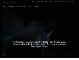 edgertronic.com screenshot