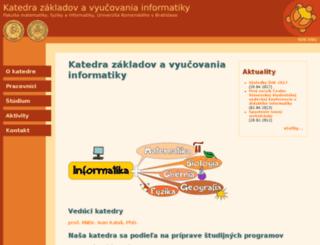 edi.fmph.uniba.sk screenshot