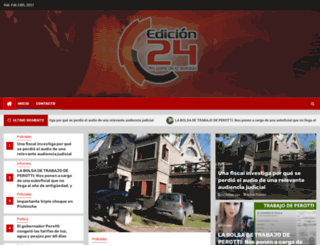 edicion24.com screenshot