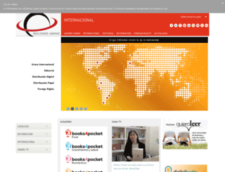 edicionesurano.com screenshot