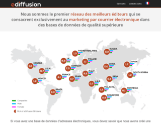ediffusion.fr screenshot